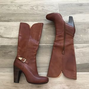 Sofft 8 1/2 Felicia tall leather heeled boots